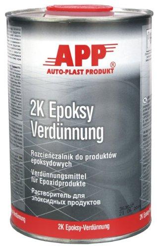 2K Epoksy Verdünnung, Verdünnungsmittel für Epoxidprodukte 1L APP
