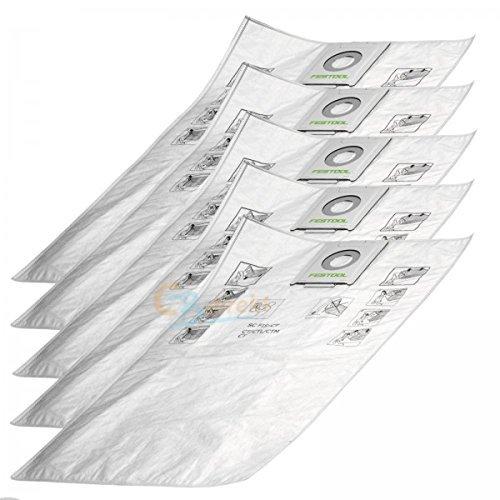 Festool-Filtersack für ABSAUGMOBIL CTL MINI 498410, 5 Stück