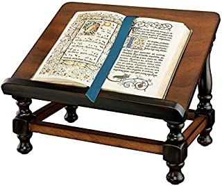 Design Toscano Antiquarian Book, Bible or Dictionary Display Easel, 15 Inch, Cherry