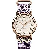 [TIMEX] 腕時計 ウィークエンダー シェブロン パープル ナイロンストラップ ユニセックス TW2R59000 38mm [並行輸入品]