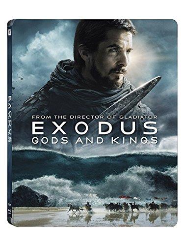 Exodus Götter und Könige 3D Steelbook, Blu-ray, Exodus - Dei e Re (2014) 3D - Edizione Speciale e Limitata Steelbook (Blu-ray 3D + 2 Blu-ray) (IT Import) Blu-ray mit deutschem Ton, Uncut, Region B, Deutsch, Englisch/English, Italienisch
