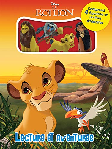 Multicolore Phidal Disney Le Roi Lion Comptines et Figurines 2019
