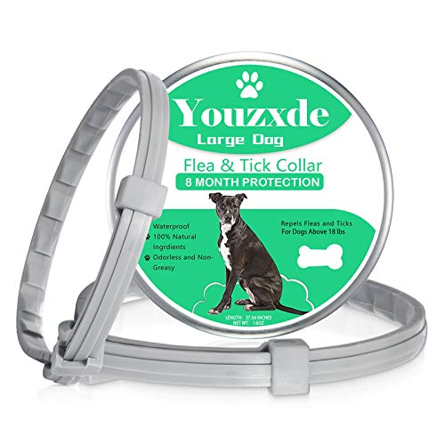 Youzxde 2 Pack Flea and Tick Collar for...
