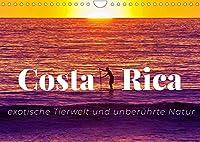 Costa Rica - exotische Tierwelt und unberuehrte Natur (Wandkalender 2022 DIN A4 quer): Costa Ricas Schoenheit in all seinen Facetten (Monatskalender, 14 Seiten )