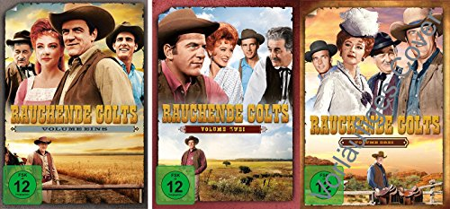 Rauchende Colts - Volume 1-3 im Set - Deutsche Originalware [ 21 DVDs]