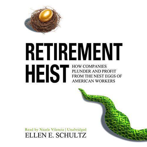 Retirement Heist audiobook cover art
