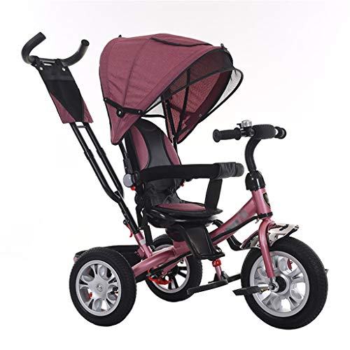 Why Should You Buy Multifunctional Baby Stroller Tricycle Bike Carbon Steel Frame Kids' Trike with C...