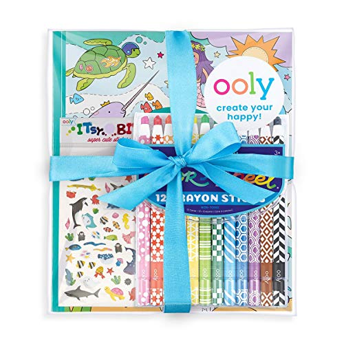 OOLY, Outrageous Ocean Appeel, Color-in' Book for Kids