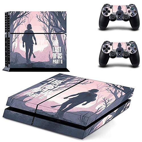 TAOSENG The Last of Us Part 2 Ps4 Skin Sticker Decal for Playstation 4 Console & Controllers Ps4 Skin Sticker Vinyl