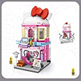 Xpixel Mini Avenue Blocks - Tienda de Cosméticos, Perfumería, Droguería - Juguete de Construcción - Bloques Tamaño Mini - Construye tu Propia Mini Avenida