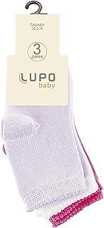 Meia Lupo Baby - Kit C/3 Unidades (Baby)