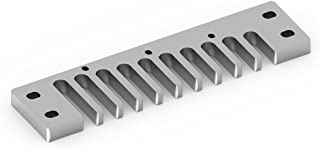 Comb Harmonica Part, Aluminum Harmony Comb Harmonica Part para Hohner Marine Band Crossover/Deluxe
