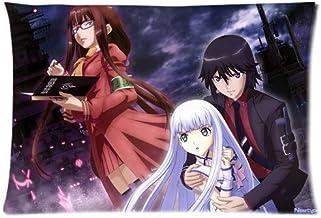 CSD Pillow case Anime Aoki Hagane no Arpeggio Ars Nova Funda de Almohada de Lado Oscuro de la energía Personalizado con Cierre Rectangular Funda de Almohada (20 x 30 Pulgadas, CLT-9)