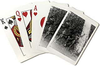 Tinquianes Aiming Arrows in the Philippines Photograph (Playing Card Deck - 52 Card Poker Size with Jokers)