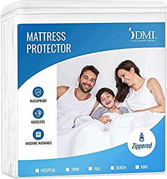 DMI Waterproof Mattress Protector and Mattress Cover Encased Zippered Fit Twin