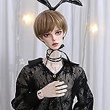 Hecho a Mano Chico Muñeca BJD 1/3 Natural SD Doll 69cm Flexible Ball Jointed Doll Avanzada Resina Juguetes con Juego Completo Ropa Zapatos Peluca Maquillaje