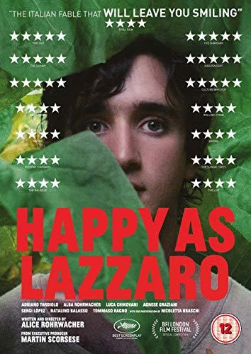 Happy As Lazzaro [DVD] [2019]