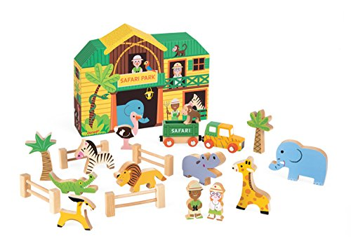 Janod - J08542 - Story Box Safari Bois