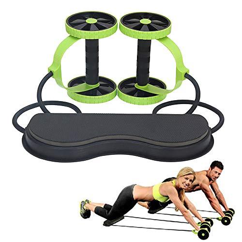 Grist CC Heim Fitnessgeräte - Multifunktions Bauchrad Abzieher,Kann Bauch Muskel Kraft Ausüben
