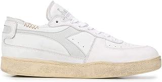 Luxury Fashion   Diadora Heritage Men 201176282C8450 White Leather Sneakers   Spring-summer 20