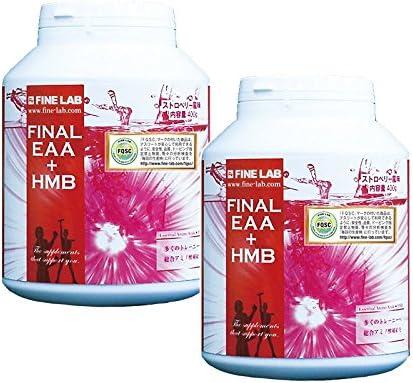ファインラボ ファイナルEAA+HMB 400g 2個セット product image