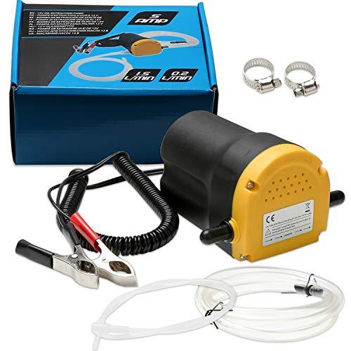 Hengda Ölabsaugpumpe 12V 60 Watt Absaugpumpe 4l/min Ölpumpe Pumpe Hohe Qualität Dieselpumpe Öl Elektrisch