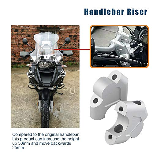Motorrad-Lenkererhöhung Für BMW R1200GS LC R1250GS 1G13 K50 Silber