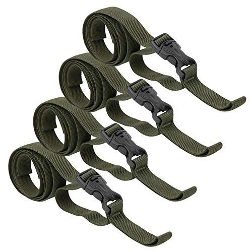 Tomanbery Cinturón de Nailon para Embalaje de Equipaje para Almohadillas a Prueba de Humedad para Diversos Equipos de Exterior para Almacenamiento Se Utiliza para agrupar artículos Grandes para