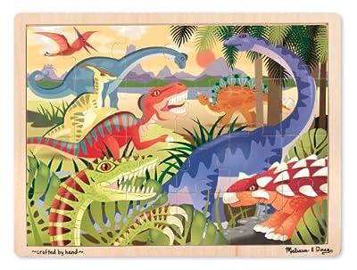 best wooden dinosaur puzzles