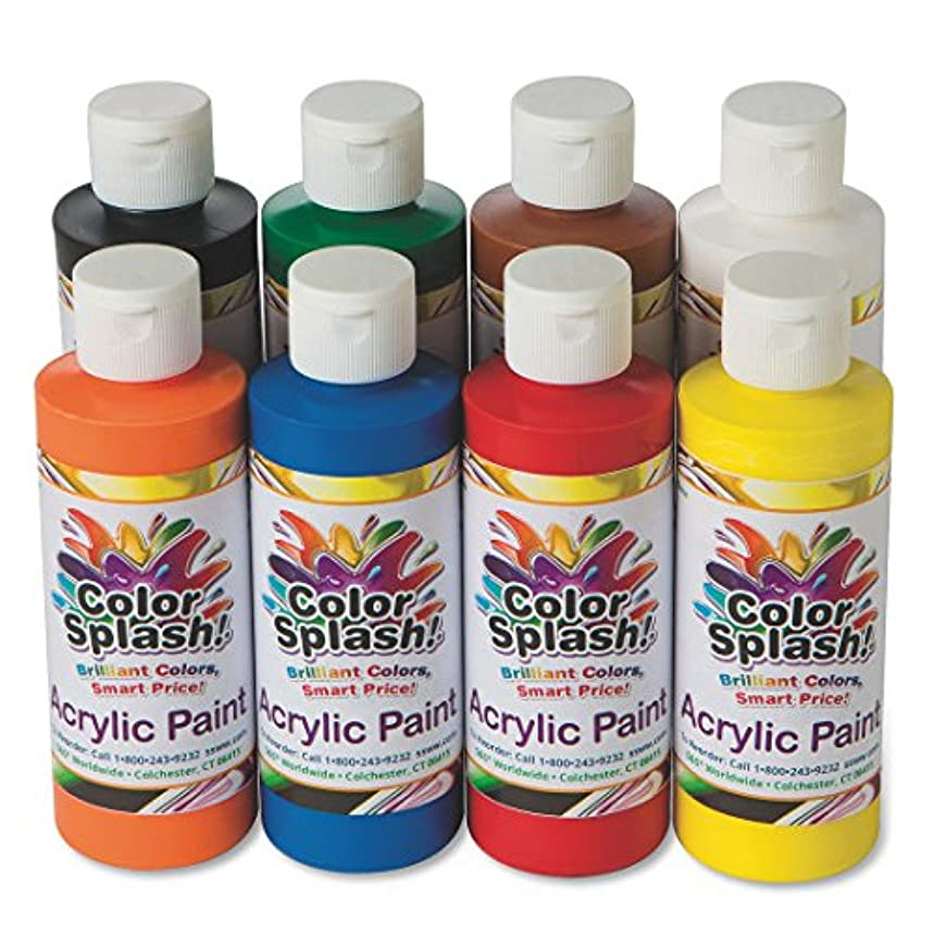 S&S Worldwide PT3127 Acrylic Paint Assortment (Pack of 8)