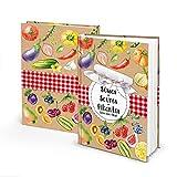 Logbuch-Verlag Libro de recetas para escribir tú mismo dulces – Saures – pictantes – para tus propias recetas para conservar, fermentar & conservas – DIN A5 multicolor