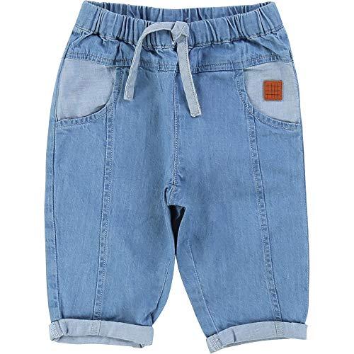 CARREMENT BEAU Pantalon en Denim léger Bebe Couche Denim Lave 6MOIS