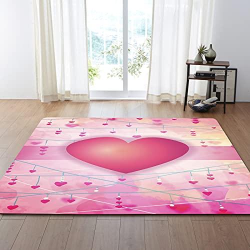 YDyun Dormitorio Sala de Estar Antideslizante Alfombra de la para el Juego de los niños Decora el Amo los tapetes del Dormitorio de la Sala de Estar