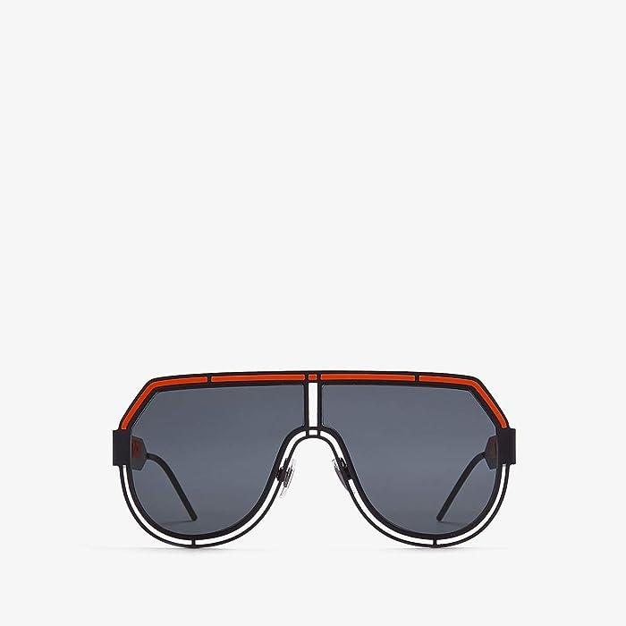 Dolce and Gabbana  DG2231 (Matte Black/Grey 2) Fashion Sunglasses