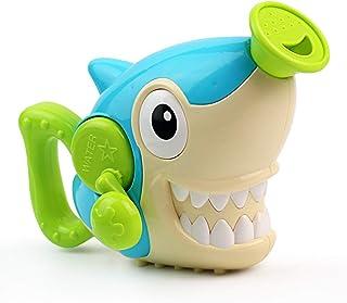 Juguetes Baño Bebe-Juguetes Bañera Tiburon para Bañera Agua Juguetes Cascada Spray Juguetes Educativos Creativos Interactivos para Niños Niñas 3 4 5 Años