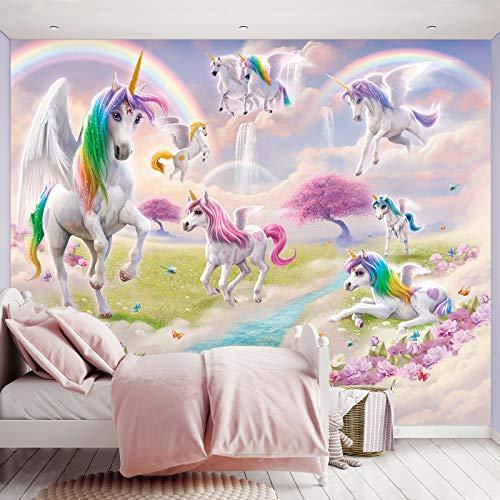 Fototapete Magical Unicorn inkl. Tapetenkleister Kindertapete Wandtapete