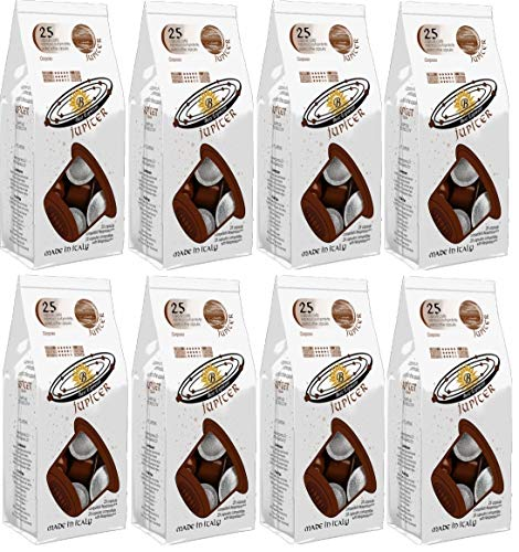 Jupiter Pack 200 Capsules Compatible Nespresso® Cafe Fort Intensite12 Best Espresso