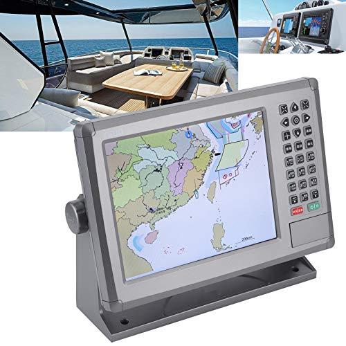 Plotter cartografico GPS Navigazione navale, GPS marino da 10,4 pollici Plotter cartografico Navigazione navale Display LCD IPX6 Impermeabile con allarme sonoro per XINUO-MAP C-Map