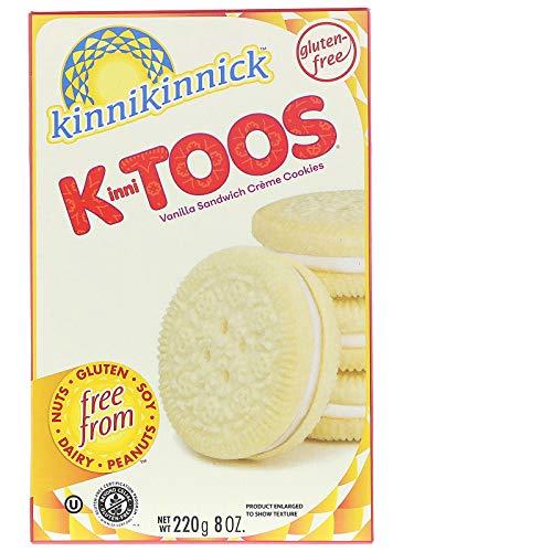 Kinnitoos Cookies, Vanilla Sandwich Cream, 8 oz