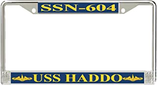 MilitaryBest USS Haddo SSN-604 Officer License Plate Frame