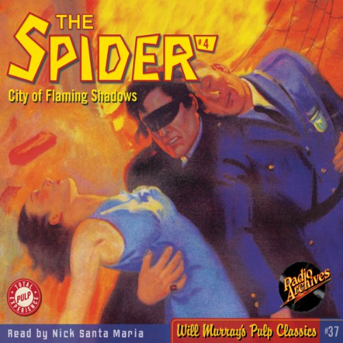 Spider #4 January 1934 audiobook cover art