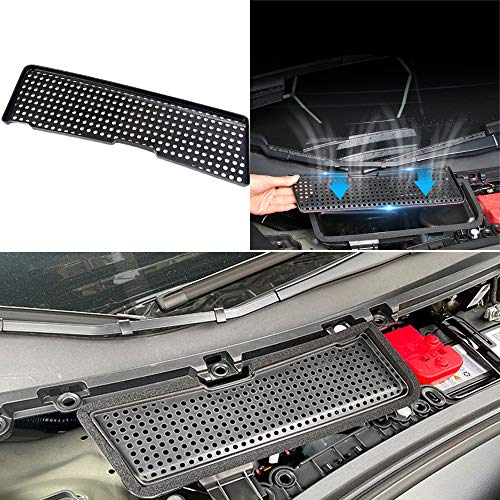 FASHIUS Compatible with 2021 Tesla Model 3 Air Intake Grille,ABS material ventilation inlet protection cover for Tesla Model 3 Accessories