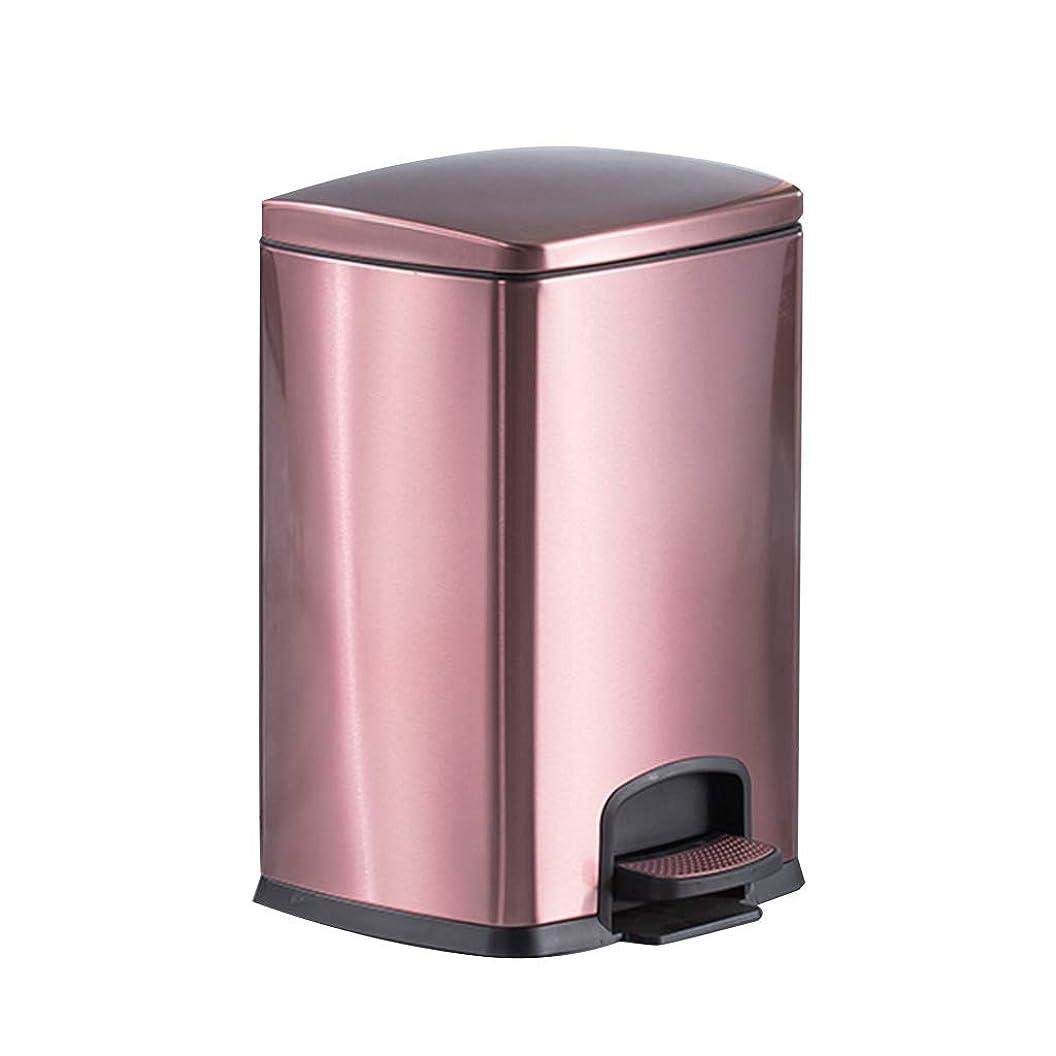 作りドナー私達HOHO ホテルウェアのゴミ箱、蓋、ペダルビン、家庭用またはオフィス用のステンレス製ゴミ箱、防水、防錆、モダンスタイリング