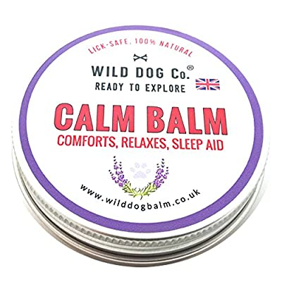 Dog Calm Balm, calming for anxious dogs, natural stress relief without sprays or drops.