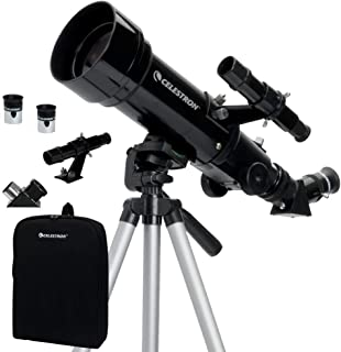 Celestron - 70mm Travel Scope - Portable Refractor Telescope - Fully-Coated Glass Optics - Ideal Telescope for Beginners -...