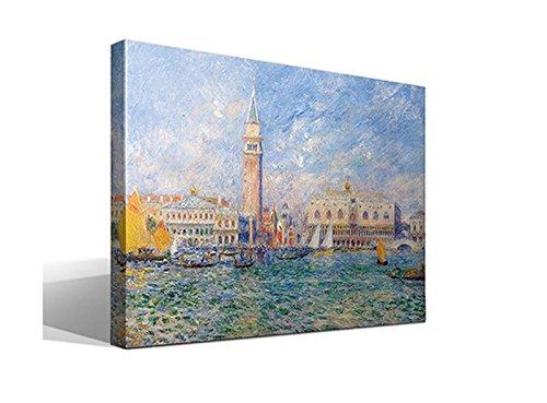Cuadro Canvas Palacio Ducal de Venecia de Oscar Claude Monet - 70cm x 95cm