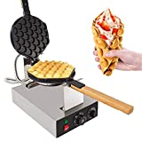 GorillaRock Egg Waffle Maker Electric Non Stick Easy Quick Egg Cooker 110V