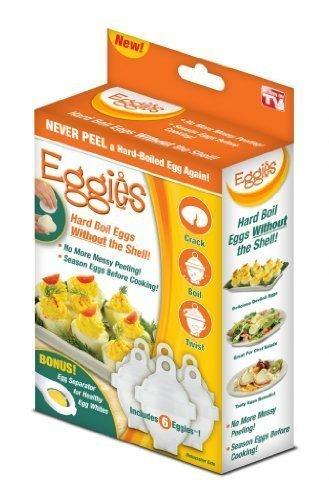 Eggies, Eierkocher , Eier ohne Schale zu kochen