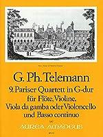 TELEMANN - Cuarteto en Sol Mayor (TWV:43/g4) (Partitura/Partes)