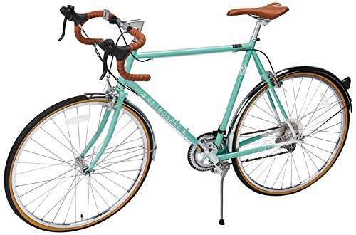 6. Retrospec Bicycles Kinney 14-Speed Vintage Hybrid Diamond Drop-Bar Frame Bicycle